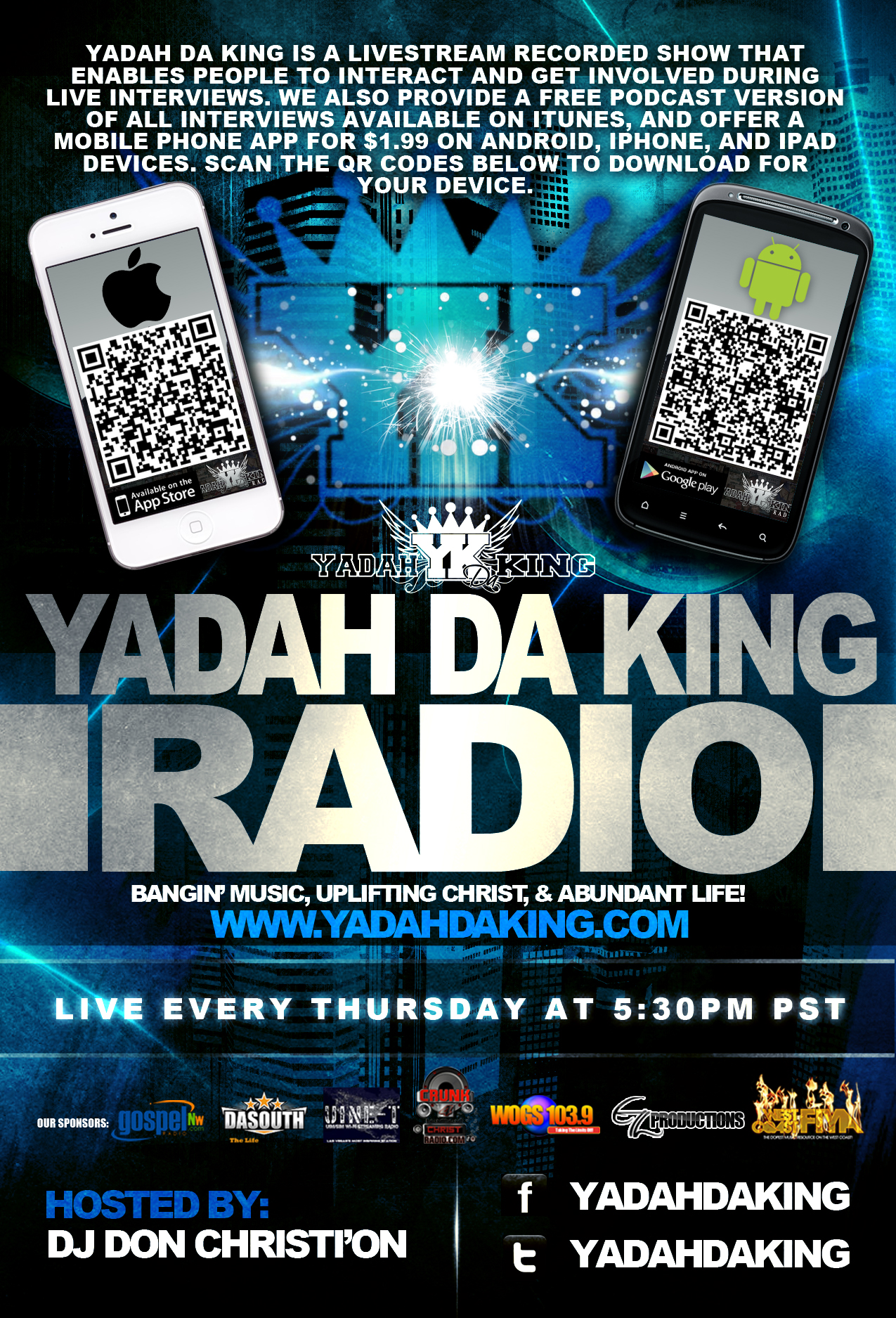 The Yadah Da King Radio Show